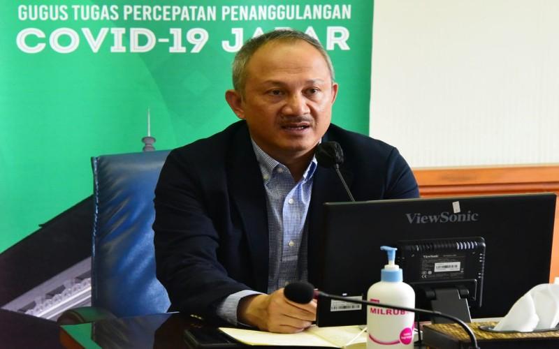 Sekretaris Daerah (Sekda) Provinsi Jawa Barat Setiawan Wangsaatmaja