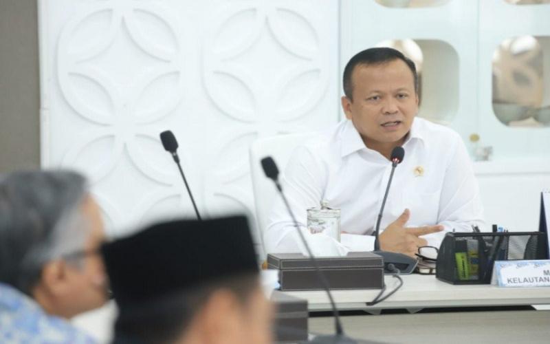Menteri Kelautan dan Perikanan Edhy Prabowo. ANTARA - HO/KKP