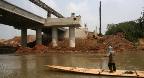Proyek pembangjunan jembatan