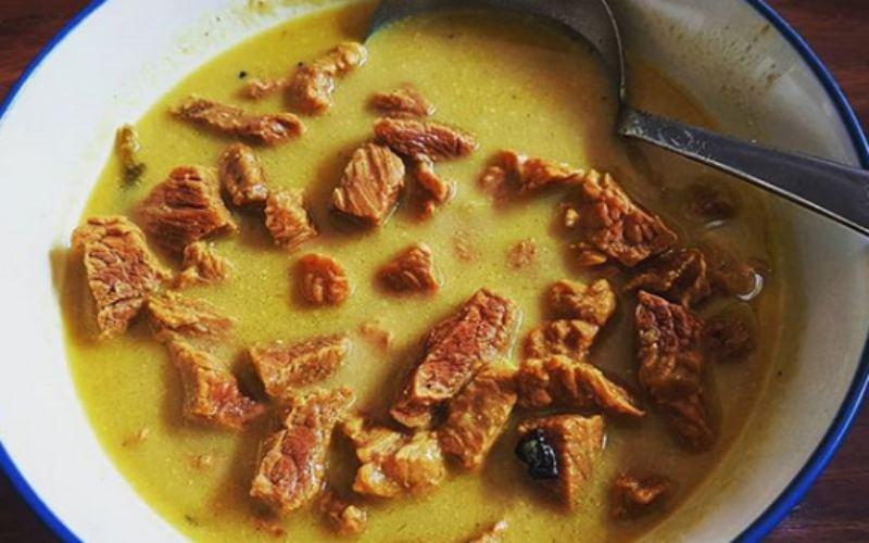 Resep memasak empal gentong. - Instagram