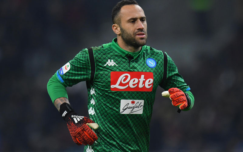 Penjaga gawang Napoli David Ospina - Bleacher Report