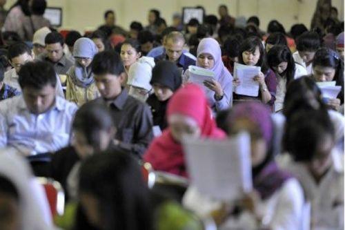 Ilustrasi-mahasiswa mengikuti ujian - Istimewa