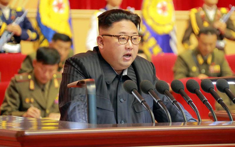 Pemimpin Korea Utara Kim Jong-un - Bloomberg