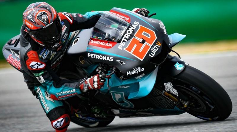 Ilustrasi-Pebalap Yamaha Petronas Fabio Quartararo - Motogp