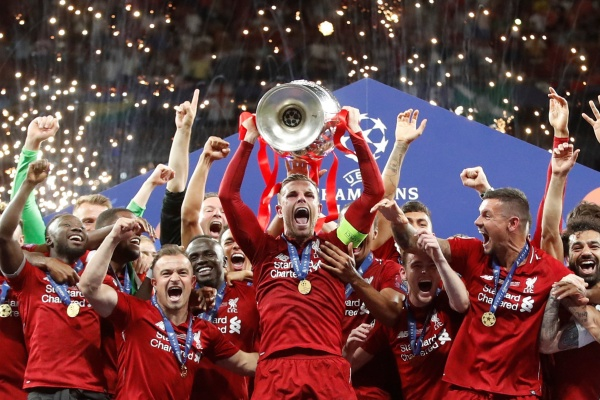 Liverpool Juara Liga Champions Eropa musim 2018 - 2019./Reuters - Carl Recine