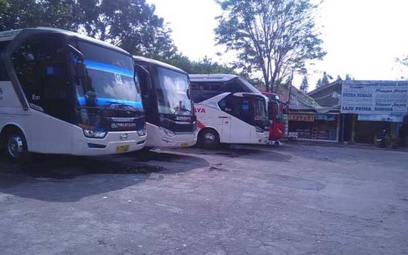 Terminal Bus Jombor di Kabupaten Sleman, Daerah Istimewa Yogyakarta. - JIBI/Fahmi Ahmad Burhan