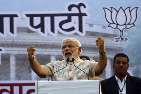 Perdana Menteri India Narendra Modi  - reuters