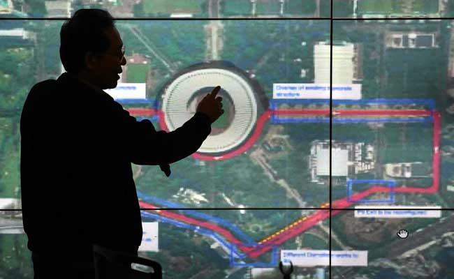 Direktur Utama Pusat Pengelola Komplek Gelora Bung Karno (PPK GBK) Winarto / ANTARA FOTO - Aditya Pradana Putra