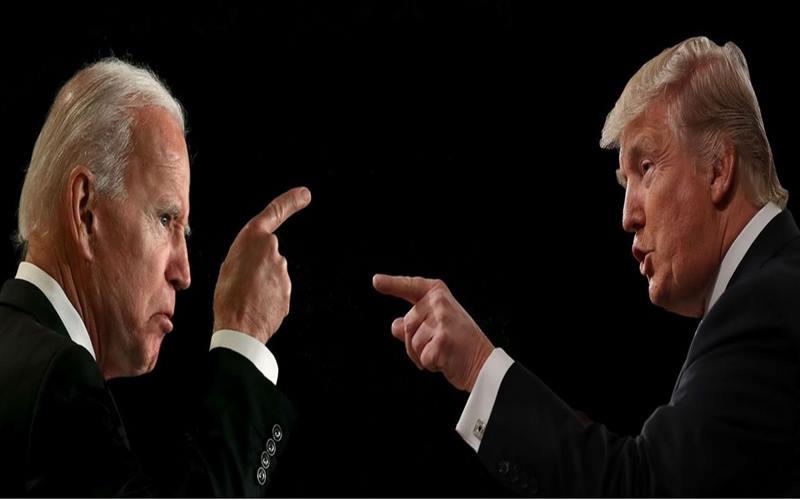 Kandidat Capres Amerika Serikat (AS) Joe Biden (kiri) dan Donald Trump (kanan). - Istimewa