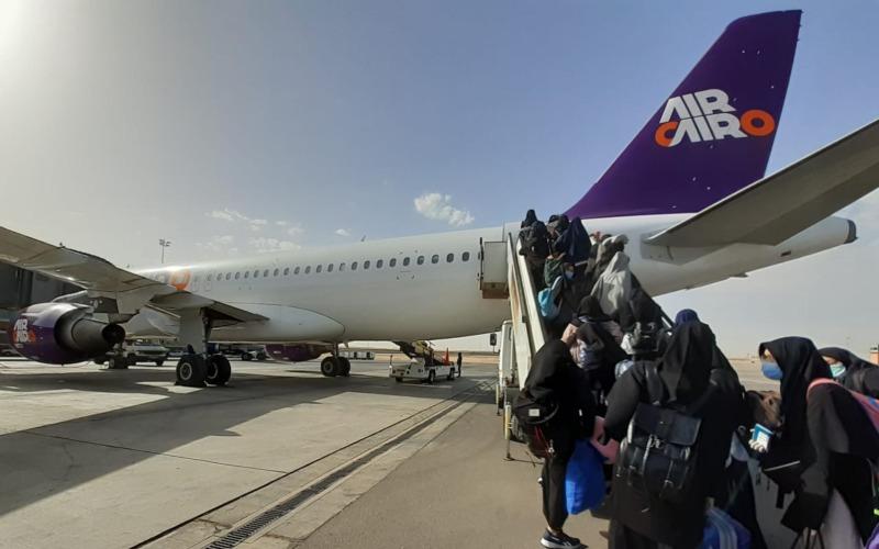 Ilustrasi-Repatriasi Tahap II WNI di Mesir menggunakan maskapai Air Cairo dengan skema sewa pesawat. Pesawat berangkat dari Cairo tanggal 21 Mei 2020 pukul 07.30 pagi waktu setempat, dan tiba di Jakarta pada Jumat (22/5/2020) pukul 03.00 dini hari WIB. - Istimewa
