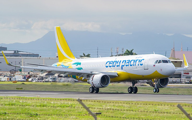 Pesawat Cebu Pacific. -  Dok. cebupacificair.com