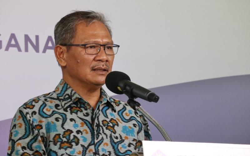 Juru Bicara Pemerintah untuk Penanganan Covid-19 Achmad Yurianto memberikan update data virus corona (Covid-19) di Indonesia dalam konferensi pers dari Graha BNPB, Minggu (24/5/2020) - Dok./Gugus Tugas Covid/19