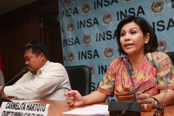 Ketua Umum Indonesian National Shipowners' Association (INSA) Carmelita Hartoto.  - JibiPhoto