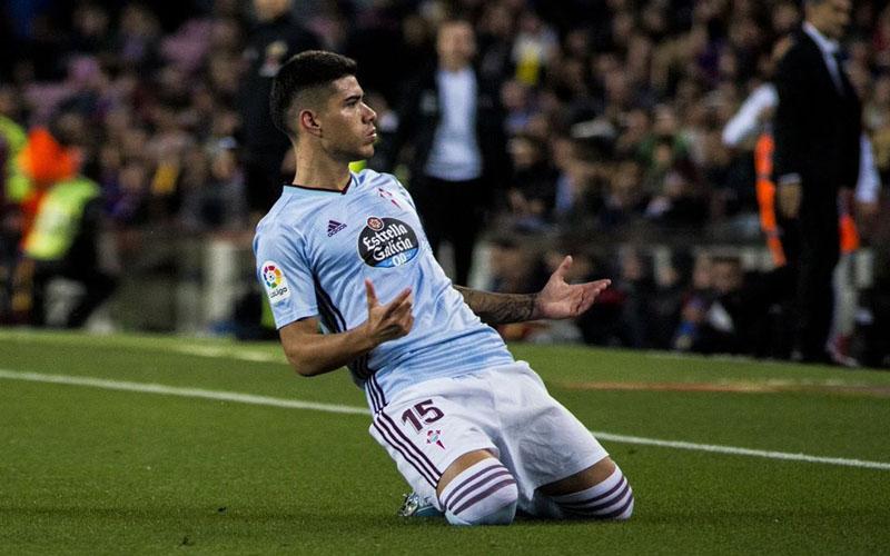 Pemain Celta Vigo Lucas Olaza - Twitter@UruguayanHeroes