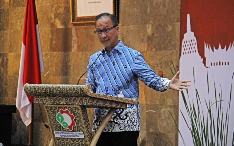 Menteri Perindustrian Agus Gumiwang Kartasasmita. - Dok. Kementerian Perindustrian