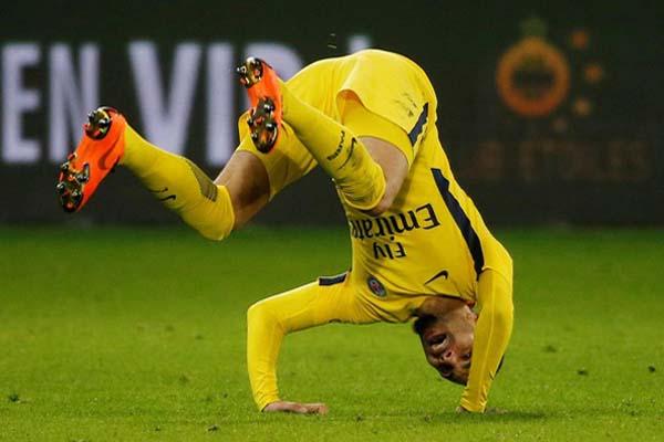 Bek Paris Saint-Germain Layvin Kurzawa/Reuters - Jean-Paul Pelissier