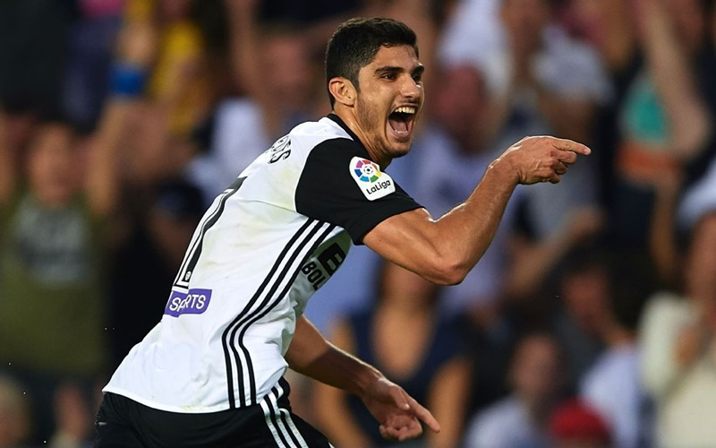 Pemain sayap Valencia, Goncalo Guedes - ESPN