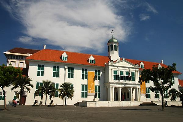 Museum Fatahillah. Perjuangan Pangeran Fatahillah membebaskan Jakarta dari cengkeraman Portugis menjadi tonggak kelahiran Kota Jakarta. Foto:wikimedia