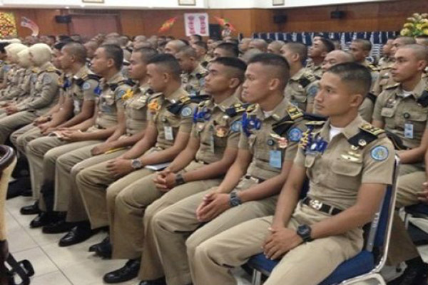 Praja IPDN Jatinangor, Sumedang, Jawa Barat. - Antara/Hendrina Dian Kandipi