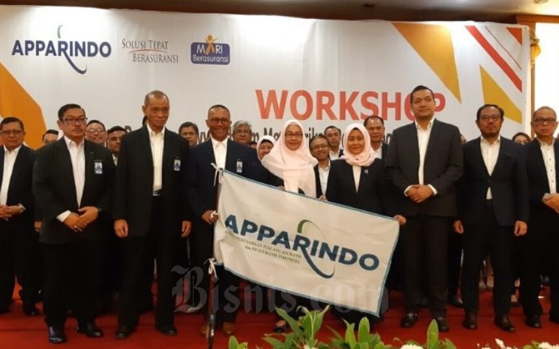 Pelantikan pengurus Apparindo, Kamis (30/1/2020) di Grand Sahid Hotel, Jakarta - Bisnis - Wibi Pangestu P.