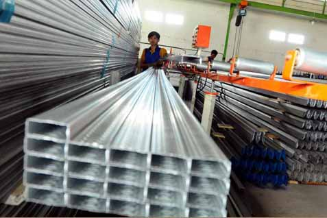 Ilustrasi Tumpukan aluminium - JIBI Photo