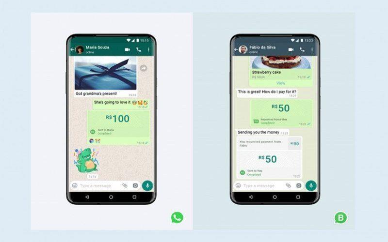Fitur pembayaran dan kirim uang sudah tersedia bagi pengguna WhatsApp di Brazil mulai 15 Juni 2002. /Antara - WhatsApp