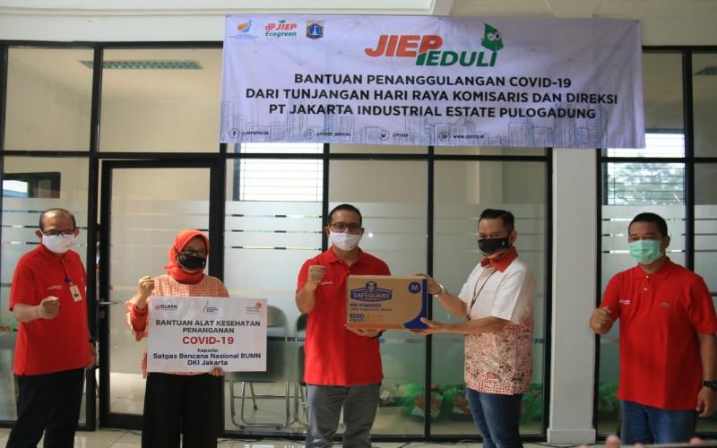 JIEP Berikan Bantuan Untuk 5 RS Rujukan Covid/19 di Jakarta