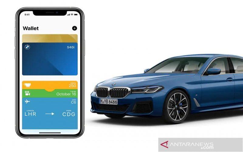 BMW Digital Key. - Antara/BMW Global