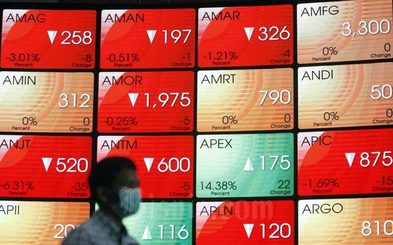 GLOB IHSG 10 Saham Top Losers 24 Juni, GLOB Terloyo Lagi - Market Bisnis.com