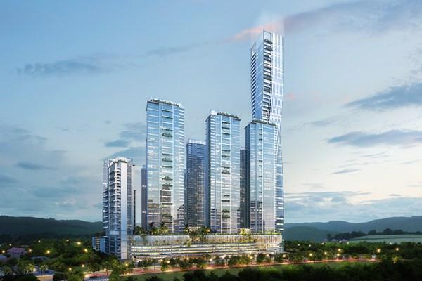 Gambar rencana pengembangan apartemen Meistersatads Batam - istimewa