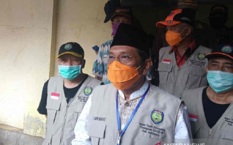 Plt Bupati Indramayu Taufik Hidayat. - Antara