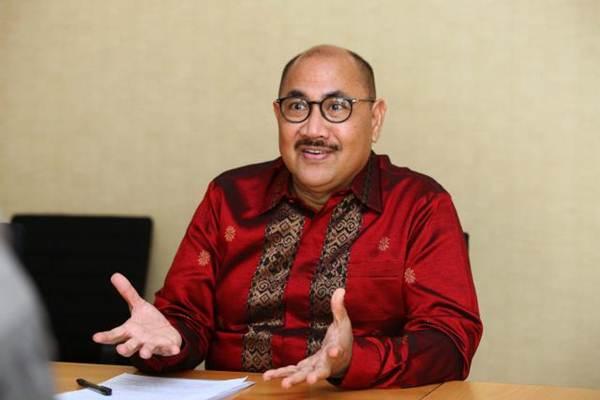 Presiden Direktur PT Hotel Indonesia Natour (Persero) Iswandi Said. - JIBI/Dwi Prasetya