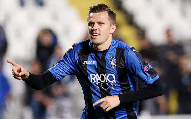 Striker Atalanta Josip Ilicic - Fedenerazzurra