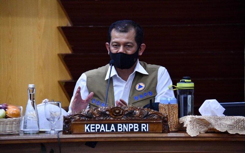 Kepala Badan Nasional Penanggulangan Bencana (BNPB) Doni Monardo.