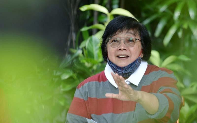 Menteri Lingkungan Hidup dan Kehutanan, Siti Nurbaya. - Istimewa