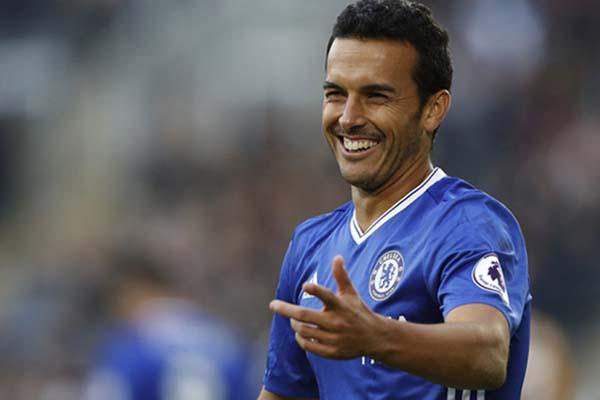 Penyerang sayap Chelsea Pedro Rodriguez./Reuters - Carl Recine