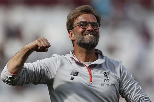 Pelatih Liverpool Jurgen Klopp/Reuters - Peter Nicholls