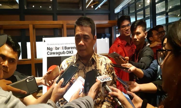 Wakil Gubernur DKI dari Partai Gerindra Ahmad Riza Patria. JIBI - Bisnis/Aziz Rahardyan