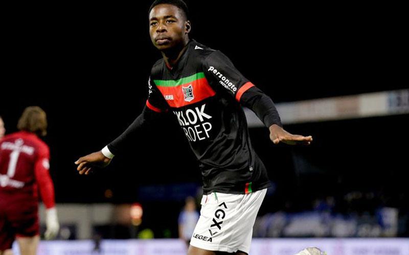 Pemain NEC Nijmegen Anthony Musaba - Gelderlander.nl