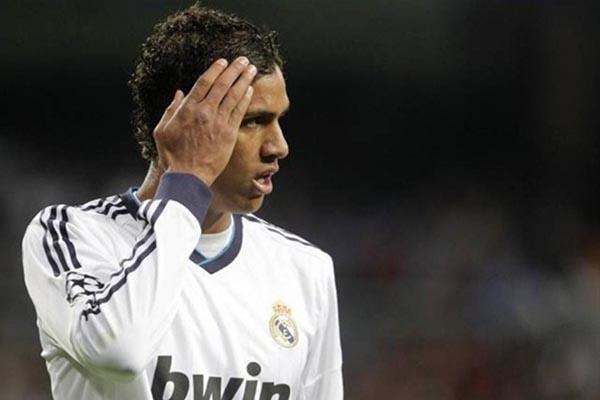 Pemain belakang Real Madrid Raphael Varane. - Reuters