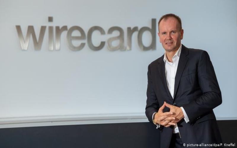 Markus Braun, saat menjadi CEO Wirecard.