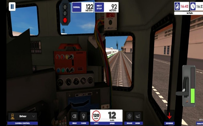 Gim Train Simulator - istimewa