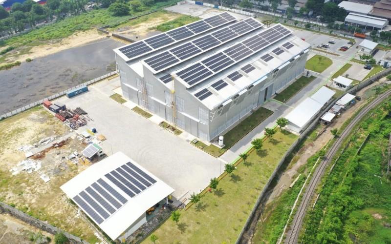 Proyek PLTS milik Len Industri - Istimewa