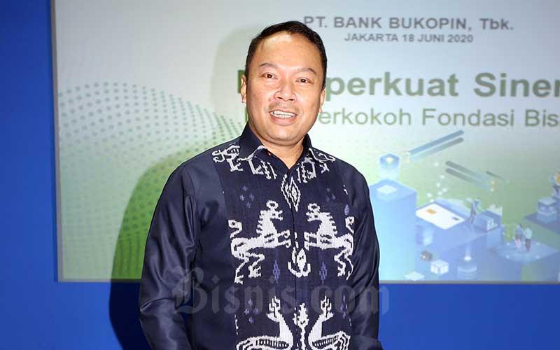 Direktur Utama PT Bank Bukopin Tbk. (BBKP) Rivan A. Purwantono. Bisnis - Abdullah Azzam