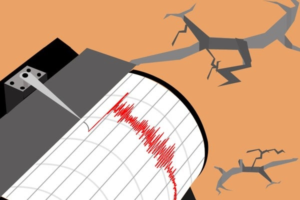 Ilustrasi gempa. - Antara