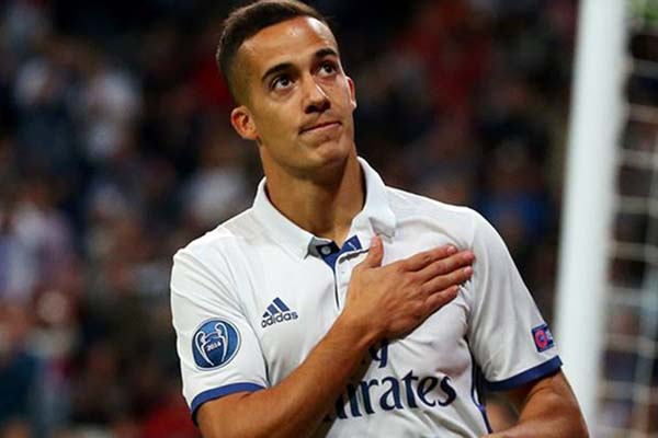 Pemain Real Madrid Lucas Vazquez - Reuters