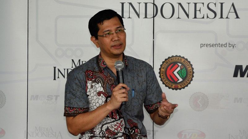 Direktur Eksekutif ICT Institute Indonesia Heru Sutadi - Kominfo.go.id