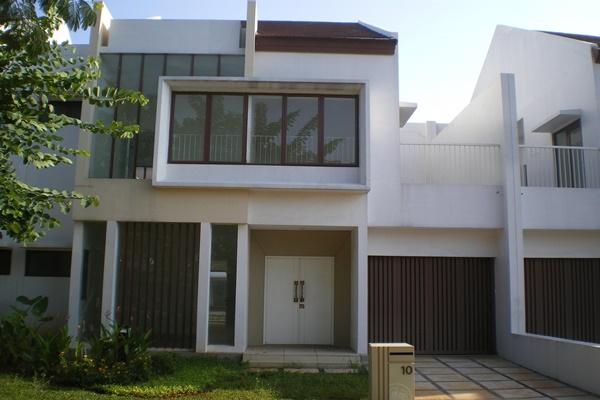 Salah satu perumahan di kawasan sekitar Jakarta. - Ilustrasi