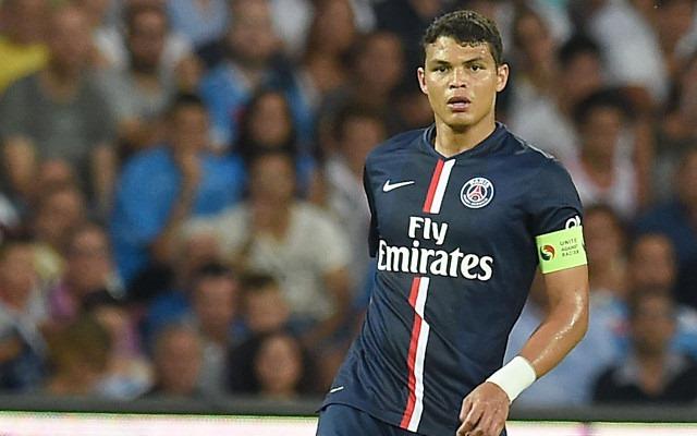 Bek dan kapten Paris Saint-Germain Thiago Silva - Caught Offside