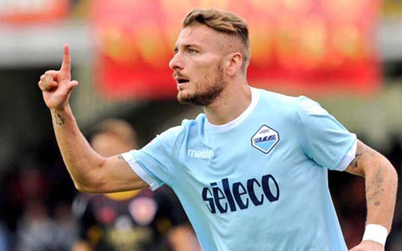 Ujung tombak Lazio Ciro Immobile. - Twitter@SSLazio
